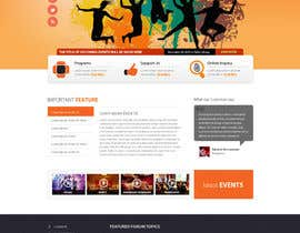 nº 34 pour Website Design for Cultural Creativity Center par zumanur