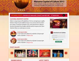 #21 cho Website Design for Cultural Creativity Center bởi NeogenStudios