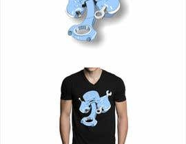 #21 para Cartoon Tee shirt design por ICiprian