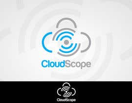 #129 para Logo Design for CloudScope de MladenDjukic