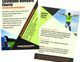 nº 59 pour Flyer Design for Southland Vineyard Church par rainy14dec