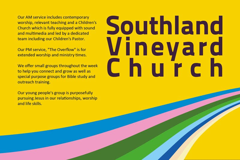 Contest Entry #94 for Flyer Design for Southland Vineyard Church