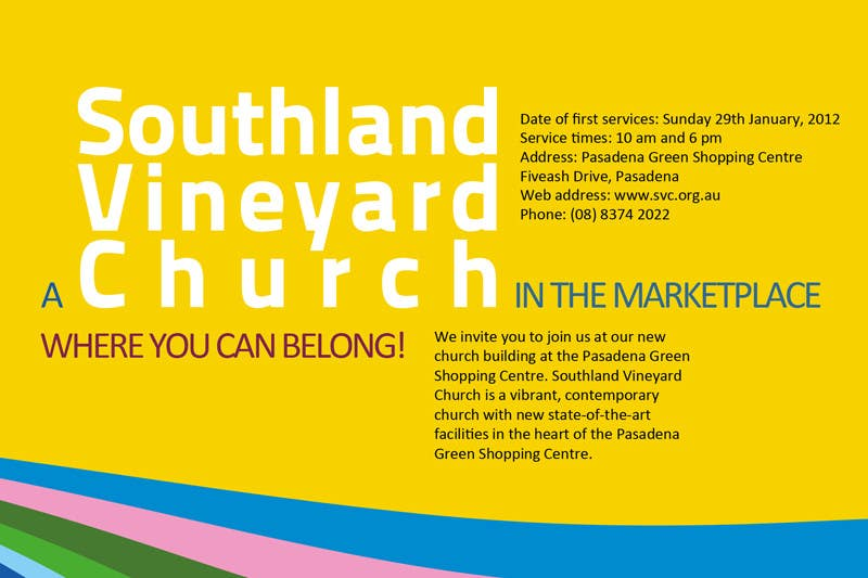 Participación en el concurso Nro.70 para Flyer Design for Southland Vineyard Church