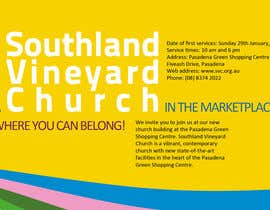 #70 para Flyer Design for Southland Vineyard Church por SeljinDesign