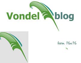 #3 untuk Design a Logo for www.vondelblog.com oleh ajdinkadic