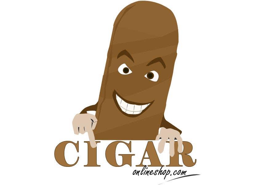 Inscrição nº 46 do Concurso para Logo Design for Cigar Online Shop