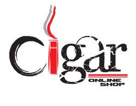 #97 untuk Logo Design for Cigar Online Shop oleh supersam007