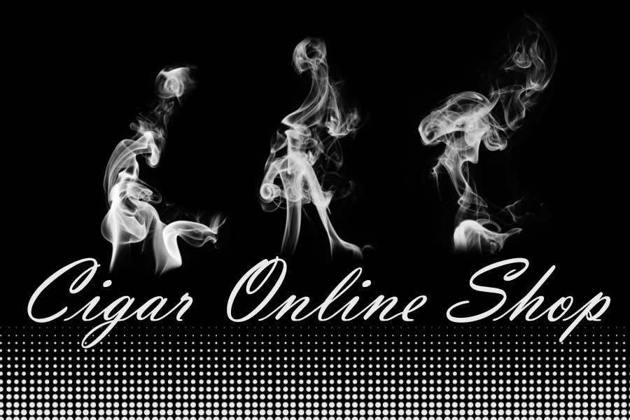 Penyertaan Peraduan #108 untuk Logo Design for Cigar Online Shop