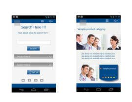 #1 untuk Design a Mobile Website Mockup for a multinational insurance company oleh king5isher