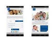 Bài tham dự #8 về Graphic Design cho cuộc thi Design a Mobile Website Mockup for a multinational insurance company