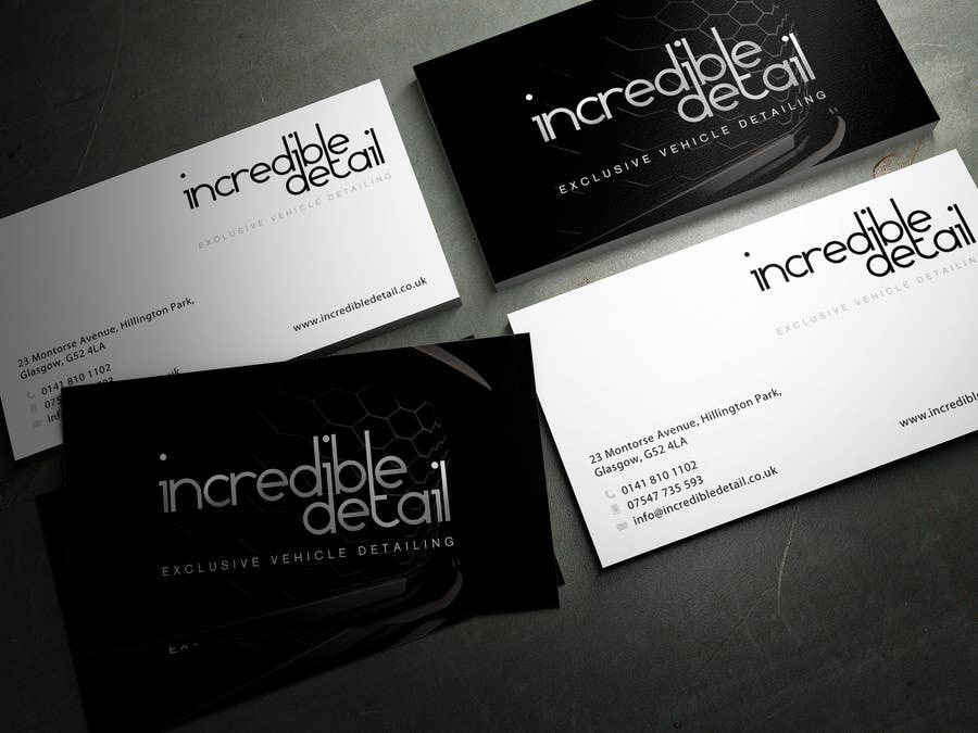 Entry 29 by sashadesigns for design some business cards for car business card reheart