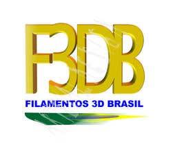 #36 for Logo para Filamentos 3D Brasil by ateval