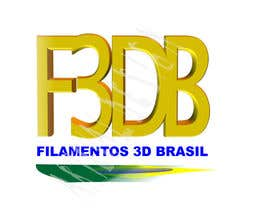 Nro 36 kilpailuun Logo para Filamentos 3D Brasil käyttäjältä ateval