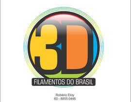 Nro 28 kilpailuun Logo para Filamentos 3D Brasil käyttäjältä eloy62