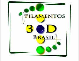 Nro 34 kilpailuun Logo para Filamentos 3D Brasil käyttäjältä Jacksonmedia