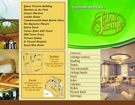 #20 para Brochure Design for Chris Savage Plaster Designs por ScubeITC