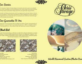 #30 untuk Brochure Design for Chris Savage Plaster Designs oleh ShinymanStudio