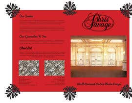 #35 para Brochure Design for Chris Savage Plaster Designs por ShinymanStudio