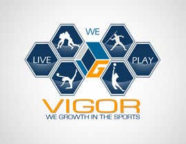 #293 para Logo Design for Vigor (Global multisport apparel) por marenco86