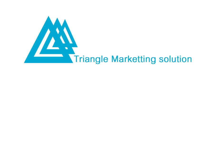 Penyertaan Peraduan #61 untuk Design a Logo for Traingle Marketing Solutions