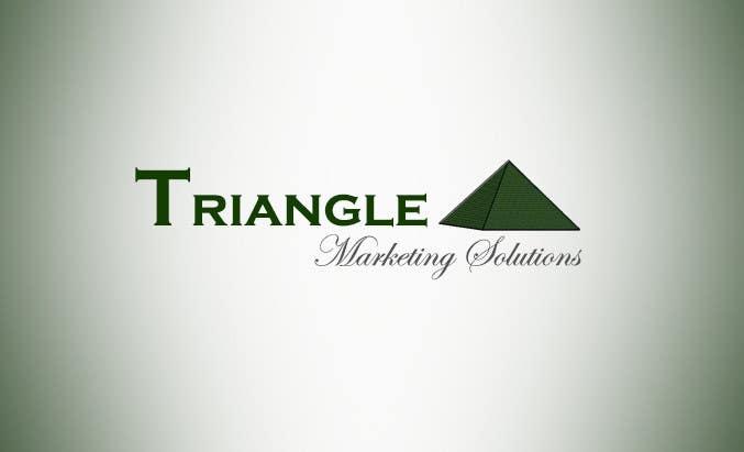 Penyertaan Peraduan #6 untuk Design a Logo for Traingle Marketing Solutions