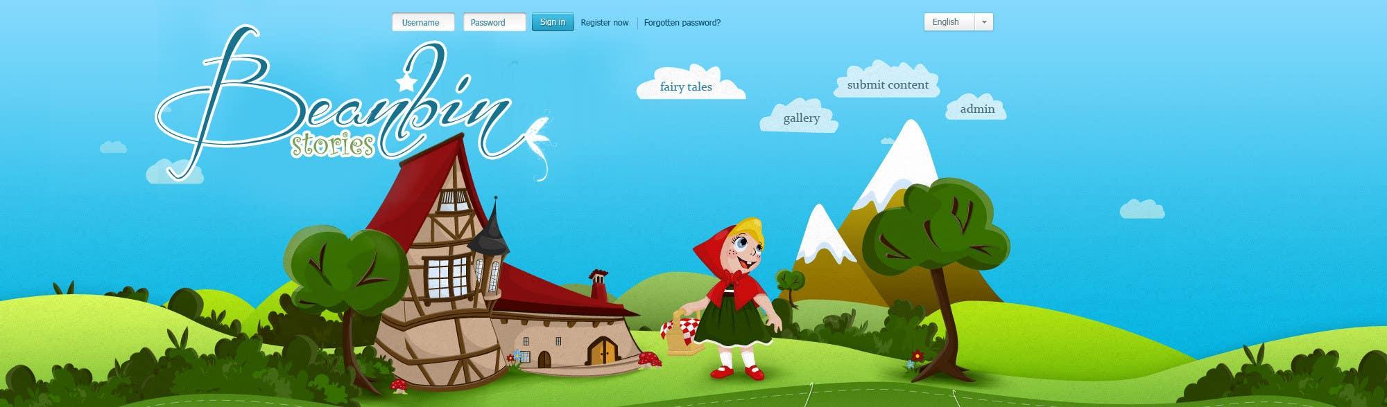 Конкурсная заявка №36 для Fairy tales Graphic Design for beanbin