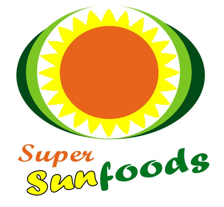 Penyertaan Peraduan #65 untuk Design a Logo for Super Sunfoods: Your Health Supplement Store