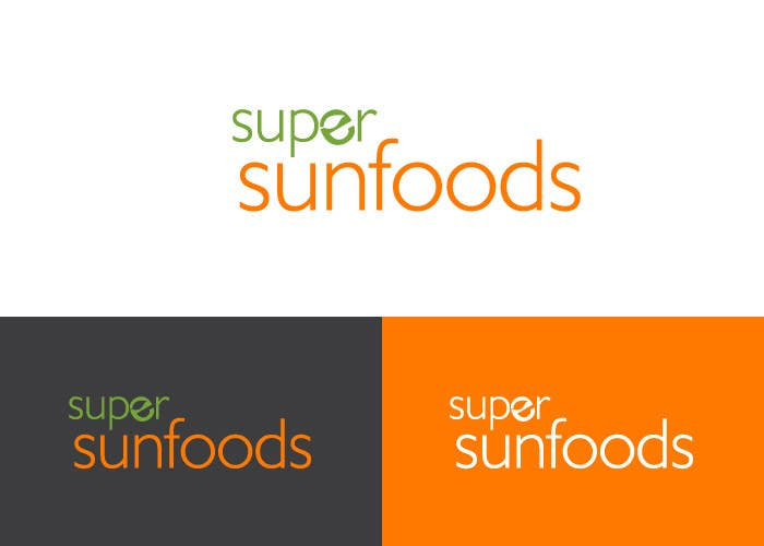 Penyertaan Peraduan #23 untuk Design a Logo for Super Sunfoods: Your Health Supplement Store