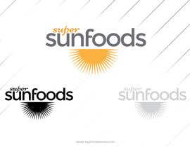 #12 para Design a Logo for Super Sunfoods: Your Health Supplement Store por johnniemaneiro
