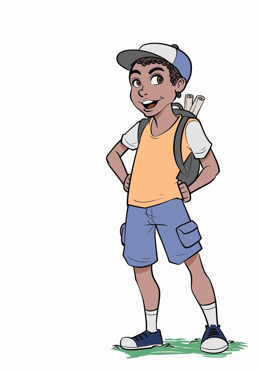 Entry 16 By Escart For Cartoon Character Illustration Of Pre Teen Boy Freelancer