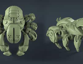 "#21 cho Design Steam Punk Automatons ""Crab walker"" bởi nastevski"