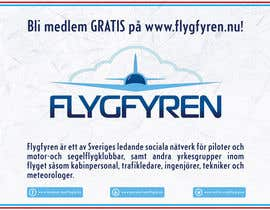 nº 10 pour Design a flyer for an aviation social network on the Internet par filipscridon