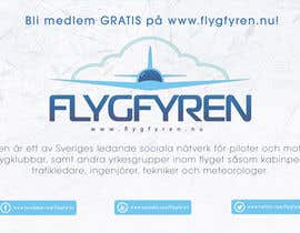 nº 14 pour Design a flyer for an aviation social network on the Internet par filipscridon