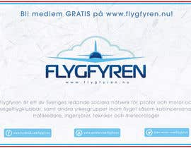 nº 18 pour Design a flyer for an aviation social network on the Internet par filipscridon