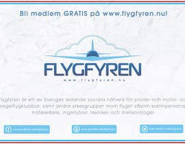 nº 21 pour Design a flyer for an aviation social network on the Internet par filipscridon