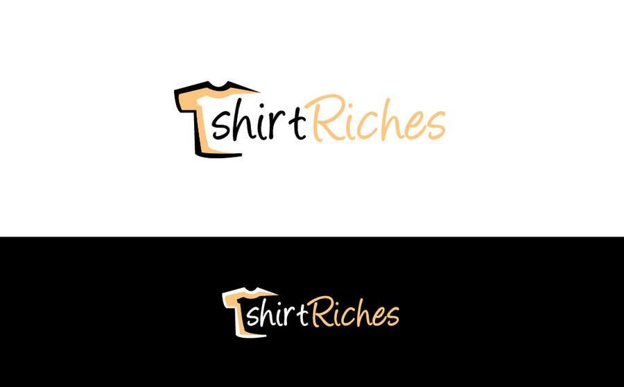 Bài tham dự cuộc thi #                                        96                                      cho                                         Design a Logo for TshirtRiches