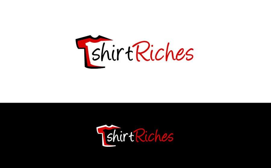 Bài tham dự cuộc thi #                                        99                                      cho                                         Design a Logo for TshirtRiches