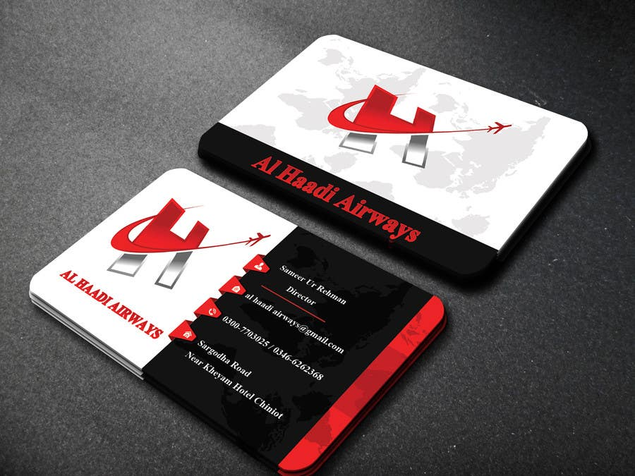 Entry #3 by websketchworld for I need Business Card for my Travel ...