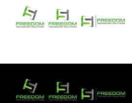 nº 831 pour Design a Unique Company Logo for FREEDOM TECHNOLOGY SOLUTIONS par chyonislam