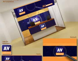 #2 para Exhibition Stand Design (technical fair) Virusbulletin por Sahir75