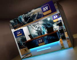 #27 para Exhibition Stand Design (technical fair) Virusbulletin por Sahir75