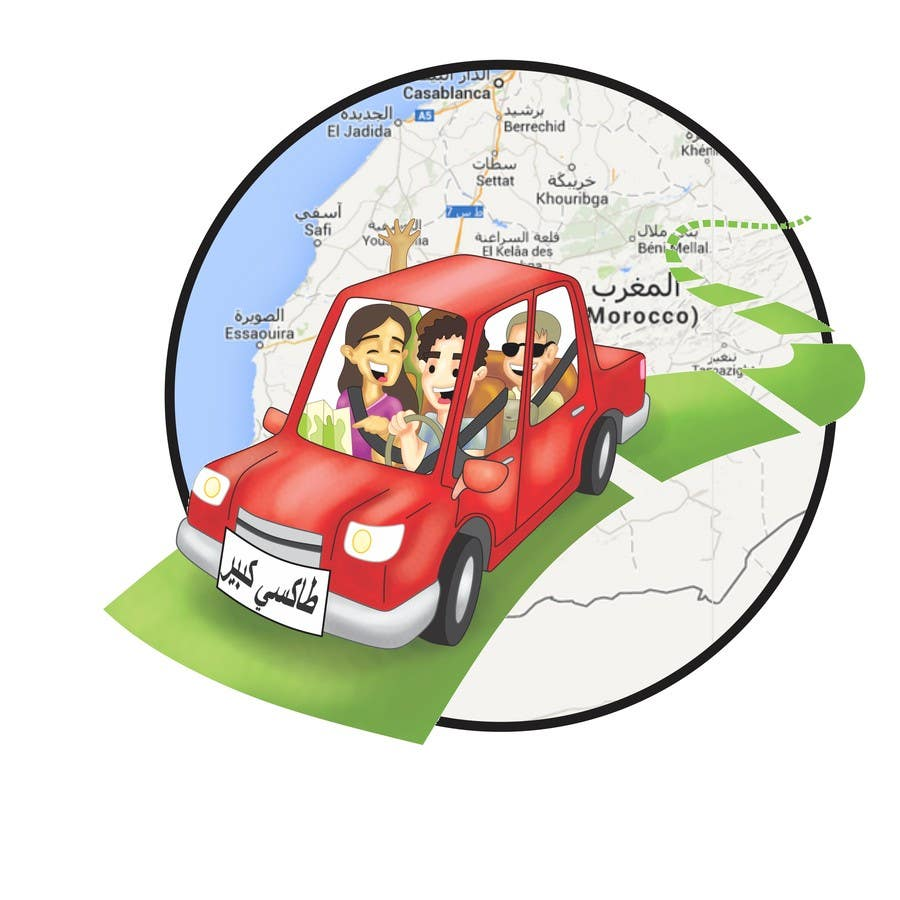 #7 for Create an image for carpooling website by samuelportugal