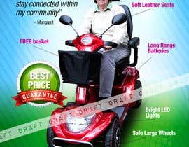 nº 2 pour Design an Mobility Scooter Advertisement par b74design