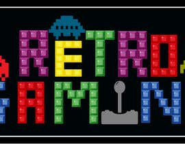 nº 23 pour Logo Retro-gaming par lunadevcorp