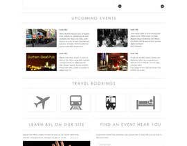 #9 para Design a Website Mockup for Deaf Pubs por JosephNgo