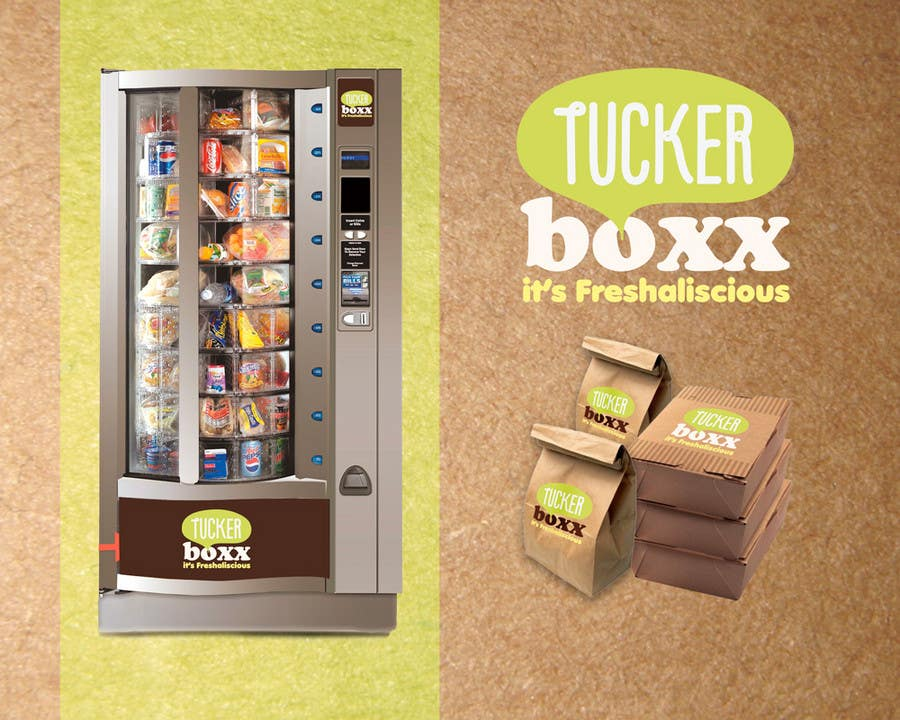 Inscrição nº                                         123                                      do Concurso para                                         Graphic Design (logo, signage design) for TuckerBoxx fresh food vending machines