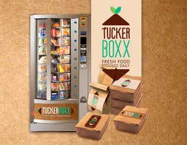 #152 for Graphic Design (logo, signage design) for TuckerBoxx fresh food vending machines by sonotdesign