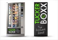 Graphic Design Inscrição do Concurso Nº102 para Graphic Design (logo, signage design) for TuckerBoxx fresh food vending machines