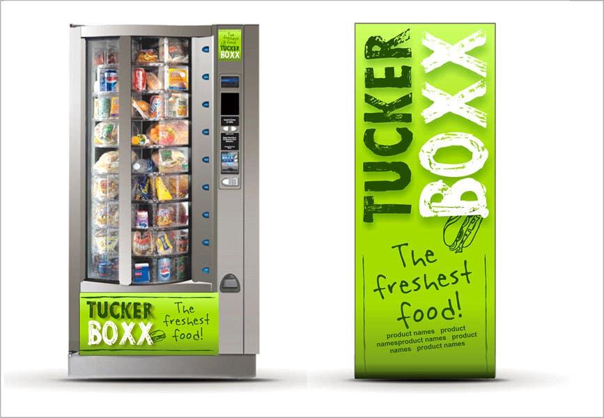 Inscrição nº                                         114                                      do Concurso para                                         Graphic Design (logo, signage design) for TuckerBoxx fresh food vending machines