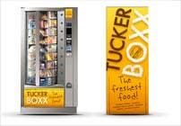 Graphic Design Inscrição do Concurso Nº109 para Graphic Design (logo, signage design) for TuckerBoxx fresh food vending machines